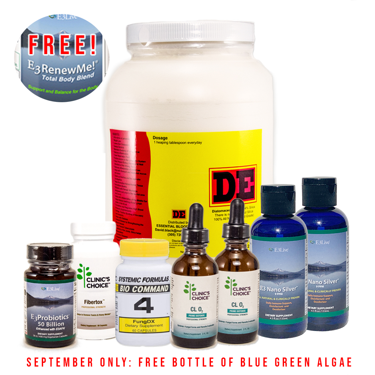 Crown Wellness Parasite Cleanse Pack